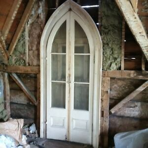 Door built in 1882 just removed
