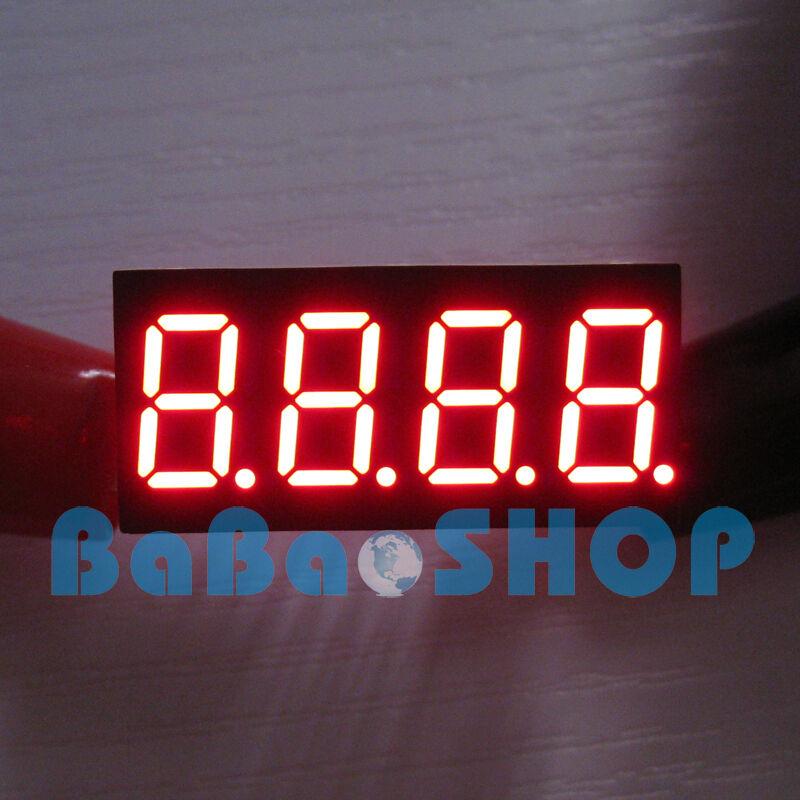 "20pcs New 0.36"" 0.36 inch 7 Segment Display Red LED 4 Digit Common Cathode"