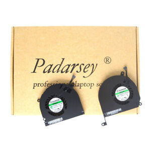 Left+right Side CPU Cooling Fan Macbook Pro 15-Inch 2008-2012