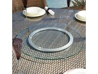 Glass Lazy Susan For Sale - Used - Bargain Price