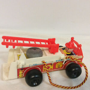 Fisher Price Little People Fire Truck