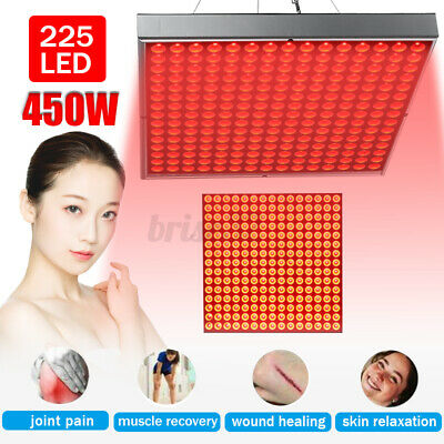 660nm 850nm Anti Aging Full Body 450W Red Near Infrared LED Therapy Light Panel