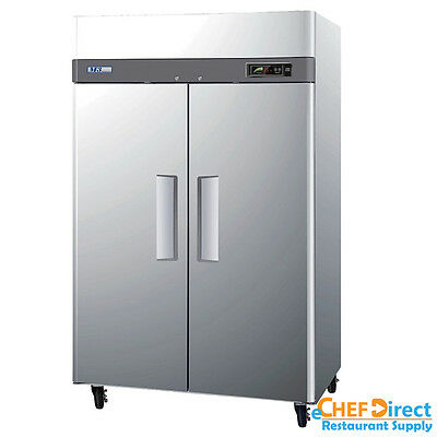 Turbo Air M3f47-2-n 52 Double Door Reach-in Freezer