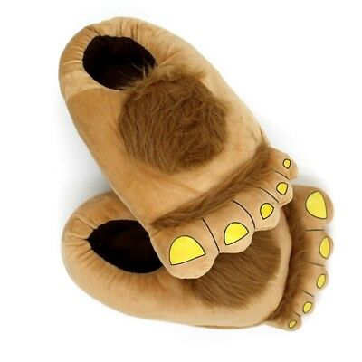 Big Foot Furry Plush Slipper Costume Flip Flop Soft Warm Gift Slippers Party - Big Foot Costume