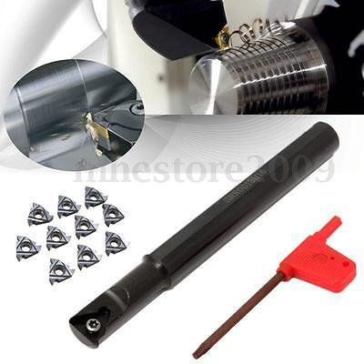 13x160mm Boring Bar Threading Turning Tool Snr0013m16 Cnc Mill Lathe 10x Ag60