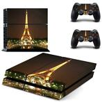122 Sticker skin wrap ps4 stickers playstation 4 + 2x contro