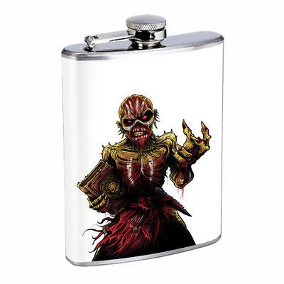 Skeleton Book Em1 Flask 8oz Stainless Steel Hip Drinking Whiskey](Bible Flask)