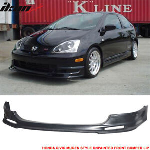2003 - 05 Civic Si EP3 Mugen Style Front Bumper Lip - PU