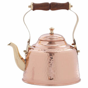 Old Dutch 2qt Copper Tea Kettle