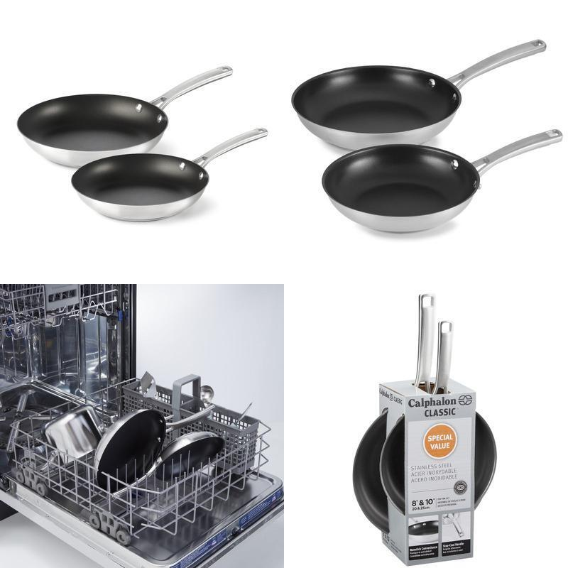 Calphalon Classic Stainless Steel Cookware, Nonstick Fry Pan