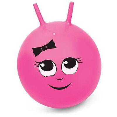 Sally Pink Space Hopper Retro 45cm Junior Kids Children Fun Jump N Bounce