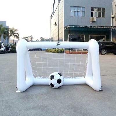 Fußballspielzeug PVC Elternteil Interaktives Aufblasbares Fußballtor Fußballziel