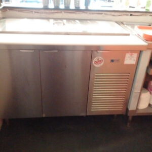 Stainless refrigerated cold prep table for sale $700 OBO
