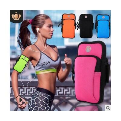 Waterproof Mobile Phone Armband Sport Waist Bag Running Pouch For iPhone