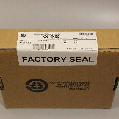 New Sealed Ab 1756-l62 Ser B Controllogix Processor Unit Controller 1756l62