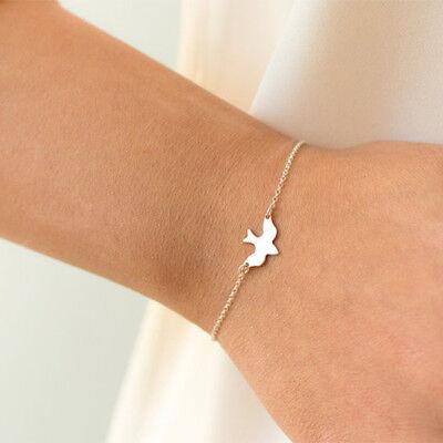 Womens Peace Bracelet - Fashion Women's Simple Peace Dove Bracelet Gold Silver Bracelet Jewelry Gift