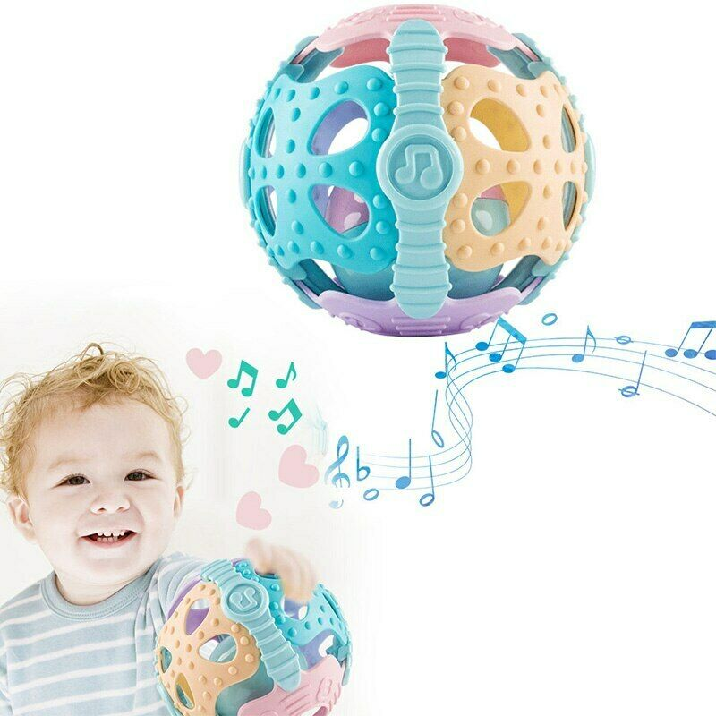 Creative Handrattle Ball Toys Baby Rattles Handbell Puzzle Educational Toys Hot