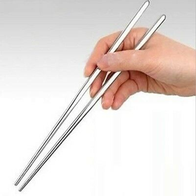 Chinesische/Japanische Chopsticks Ess Stäbchen Esstäbchen Edelstahl Stäbchen