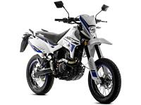 LEXMOTO ADRENALINE 125CC ENDURO LEARNER LEGAL WHITE BLUE MOTORBIKE MOTORCYCLE