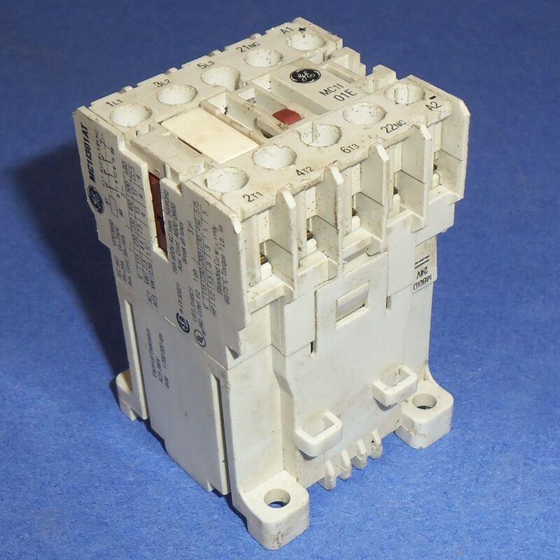 GE GENERAL ELECTRIC 24VDC COIL MINI CONTACTOR MC1I301AT