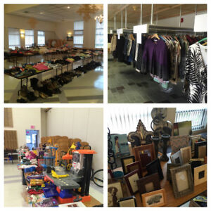 Hilldale Lutheran Church Huge Indoor Yard Sale