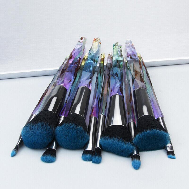 Makeup Brush Set Cosmetic Lip Foundation Eyebrow Blush Powde