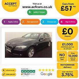 BMW 520 2.0TD 2012MY d SE Touring FROM £57 PER WEEK!