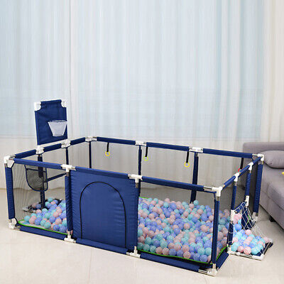 Portable Baby Safety Play Yard Activity Center Toddler Indoor Outdoor Playpen