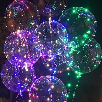 Outdoor Balloon Lights (LED Festoon Globe Bulb Indoor Outdoor String Christmas Fairy Lights)