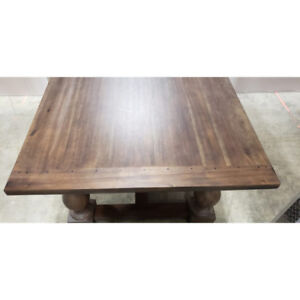 Restoration Hardware, 76 inches, Brown Dining Table