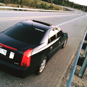 2005 Cadillac CTS 2.8L with blue interior lights
