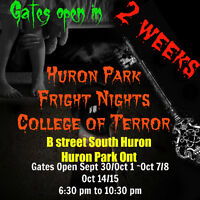 Huron Park Fright Nights College of Terror