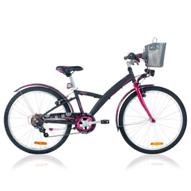 "Girl's 24"" wheel Btwin bicycle"