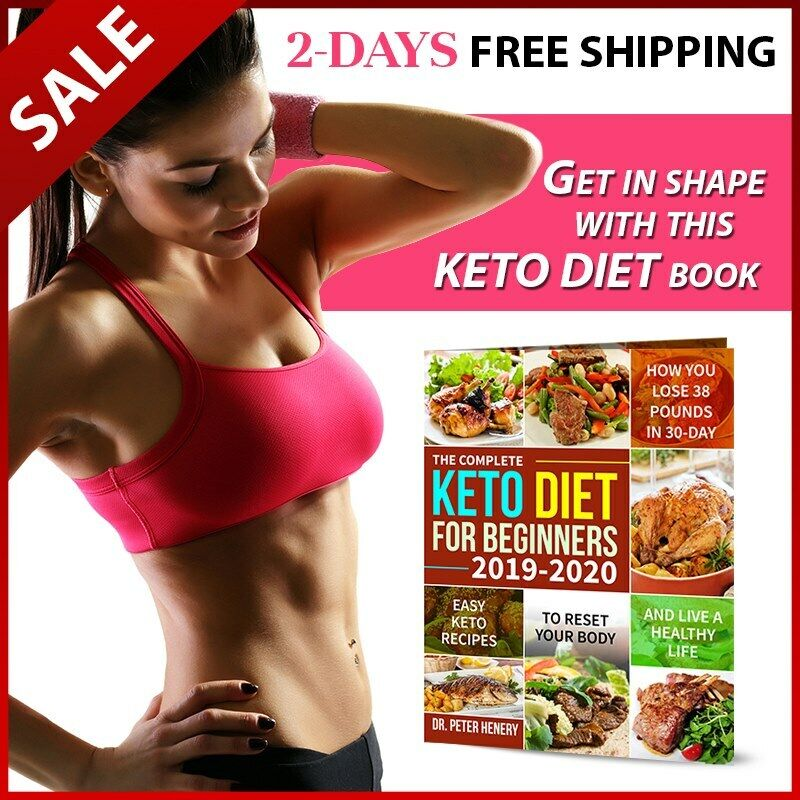 Keto Diet Cookbook For Beginners The Complete Ketogenic Diet Guide Recipe Book Ebay