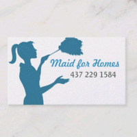 Maid for Homes Cleaning Service!