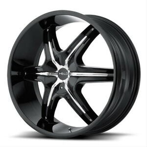 """24"""" Helo H891 Rims for Truck"""