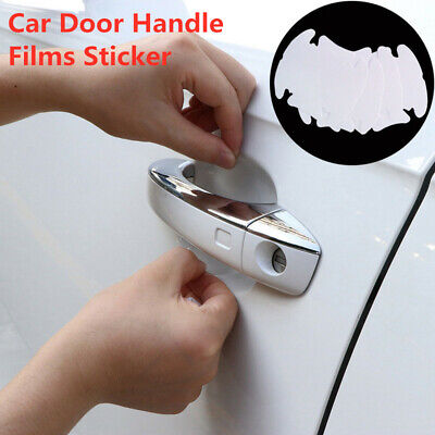 - Clear Car Door Handle Films Sticker Protector Anti Scratch Protect Accessories