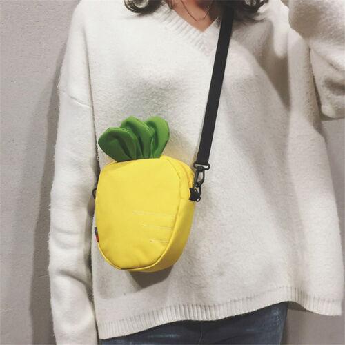 Mini Carrot Shoulder Bag Cute Women Crossbody Bag for Seasid