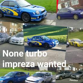 Subaru impreza none turbo wanted