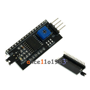 IIC/I2C/TWI/SP​​I Serial Interface Board Module Port For Arduino 1602LCD Display