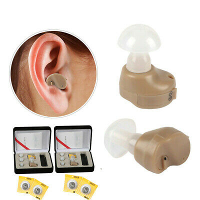 Digital Tone Hearing Aids Small In Ear Invisible Best Sound Amplifier