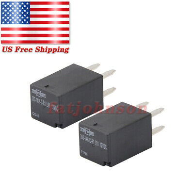 2x For Song Chuan 303-1ah-c-r1-u01-12vdc Ultra Micro Iso Relay Spno 20a 12vdc Us