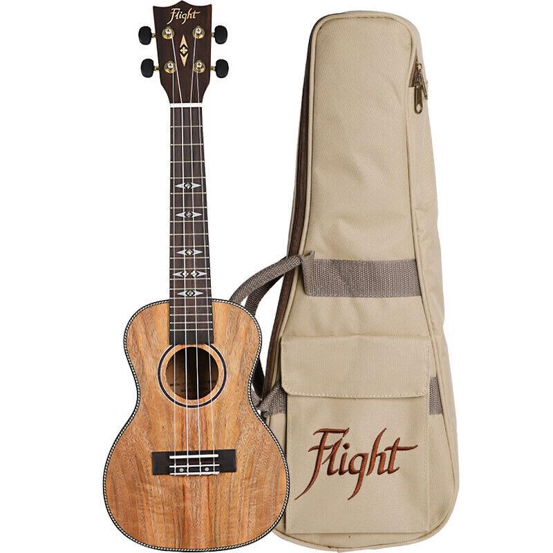 Flight: DUC450 Mango Concert Ukulele With Bag: Ukulele