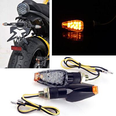 Available Motorcycle 14 Led Turn Signals Indicators Blinker Light Sports Bikes