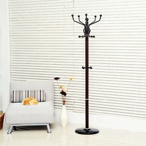 """72"""" Rotating Metal Hat and Coat Rack —FREE SHIPPING—"""