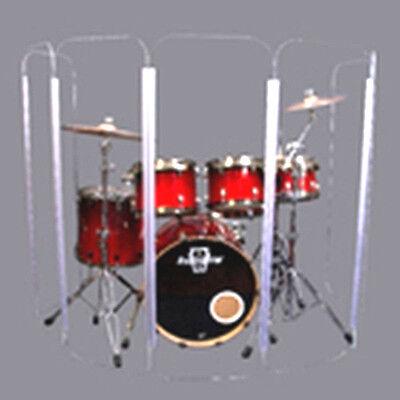 Drum Shield DS5 L 6 Section Drum Shield Acrylic Drum Panels