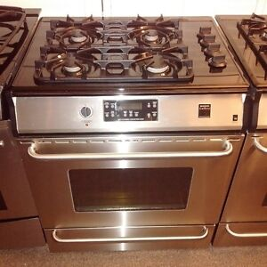 Frigidaire Gallery Stainless Steel Gas Slide In Stove
