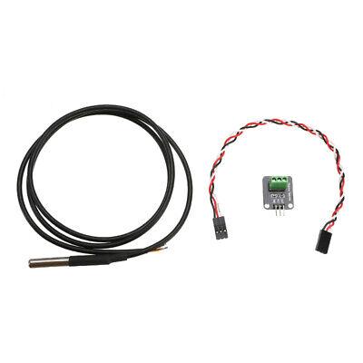 Ds18b20 Waterproof Digital Temperature Sensor With Adapter Module For Arduino