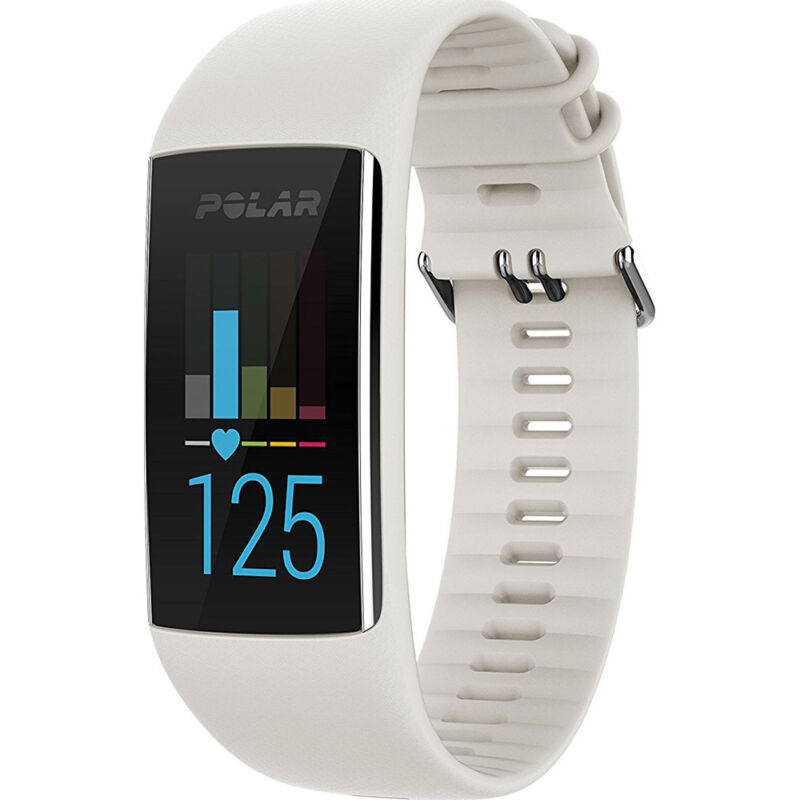 Polar A370 Activity Tracker + Heart Rate (Small) White 90064905