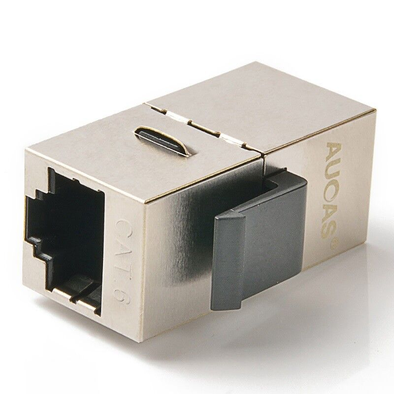 10xRJ45 Inline Coupler Cat6 Ethernet Network Cable Extend Adapter Coupler 8P8C